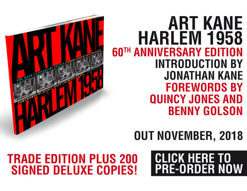 """ART KANE. HARLEM 1958""<br/>Publication date: November 12, 2018"