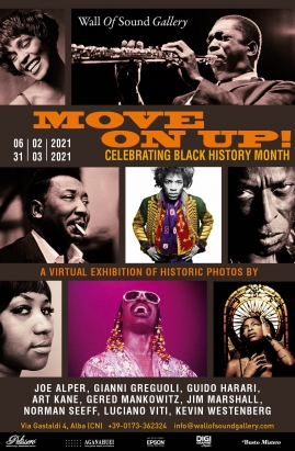 """MOVE ON UP!"" - WALL OF SOUND CELEBRATES ""BLACK HISTORY MONTH"""