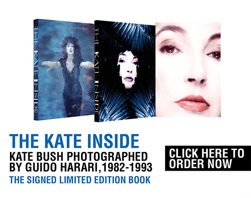 THE KATE INSIDE. The Signed Limited Edition <br>Kate Bush photographed by GUIDO HARARI, 1982-1993