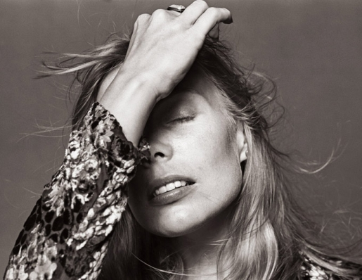JONI MITCHELL by NORMAN SEEFF
