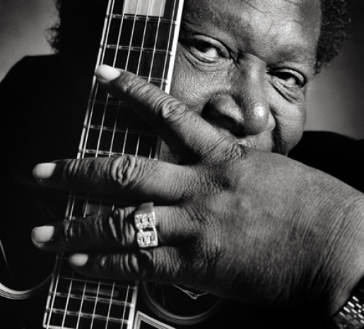 B.B. KING by LUCIANO VITI