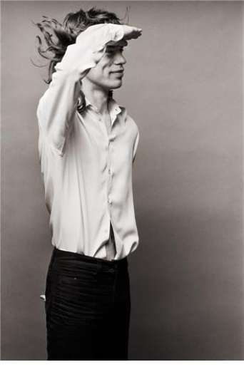 MICK JAGGER by NORMAN SEEFF