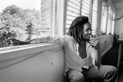 BOB MARLEY by DAVID BURNETT