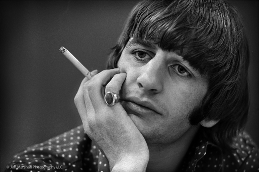 RINGO STARR by JIM MARSHALL