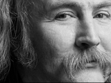 DAVID CROSBY, Milano, 1989 by GUIDO HARARI