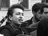 BOB DYLAN, Indian Neck Folk Festival, 1961 by JOE ALPER