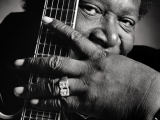 B.B. KING, Rome, 1987 by LUCIANO VITI