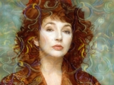 KATE BUSH, KLIMT, Londra, 1989 by GUIDO HARARI