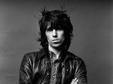 Keith Richards, Los Angeles, 1976 by NORMAN SEEFF