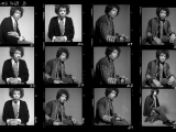 JIMI HENDRIX, CONTACT SHEET 1449B, 1967 by GERED MANKOWITZ