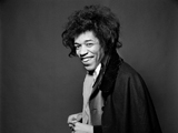 JIMI HENDRIX, SMILES, 1967 by GERED MANKOWITZ