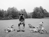 George Harrison, Friar Park, England, 1970. by BARRY FEINSTEIN