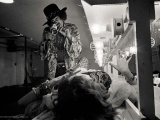 Hendrix filming Janis Joplin, San Francisco, 1968 by JIM MARSHALL