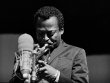 Miles Davis, Newport Jazz Festival, 1966. by JOE ALPER