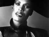 Grace Jones, Rome, 1982. by LUCIANO VITI