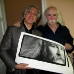 DAVID CROSBY TURNS 73! CELEBRATE WITH GUIDO HARARI'S 'CLASSIC EDITION' CO-SIGNED BY CROSBY.